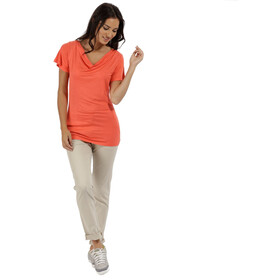 Regatta Francheska T-Shirt Women Neon Peach